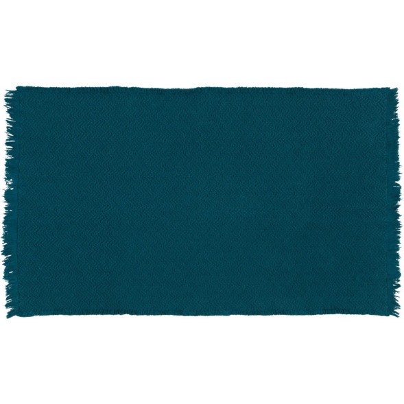 "Tapis en coton lavable Albertine ""Bleu"" (85 x 140 cm)"
