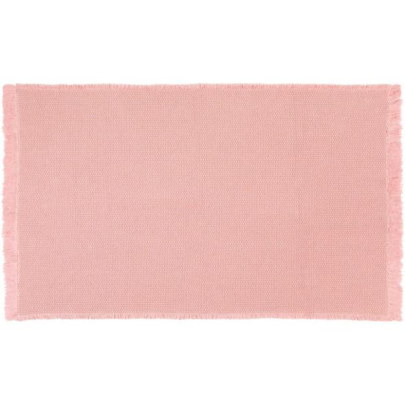 "Tapis Albertine en coton (85 x 140 cm) ""Rose"" Nattiot"