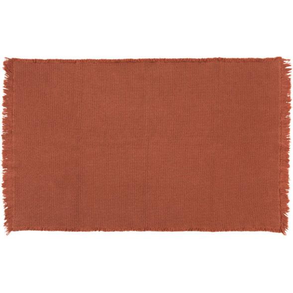 "Tapis Albertine en coton (85 x 140 cm) ""Sienna"""