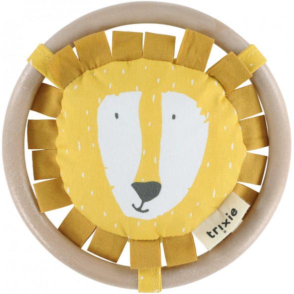 """Hochet en coton """"Mr Lion"""""""