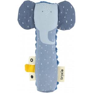 "Hochet Long ""Mrs Elephant"" Trixie Baby"