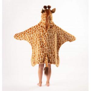 "Deguisement enfant en peluche ""Girafe""  Wild & Soft"