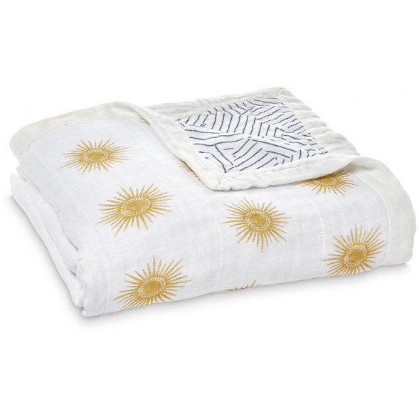 "Couverture Silky Soft en bambou ""Golden Sun"""