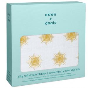 "Couverture de Rêve Silky Soft bébé en bambou ""Golden Sun"" Aden + Anaïs"