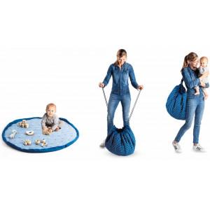 """Sac à jouets /Tapis de jeu bébé Soft """"Montgolfière"""" Play & Go"""