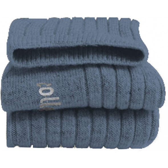 """Chaussettes en laine et cachemire """"Bleu Jean's"""""""