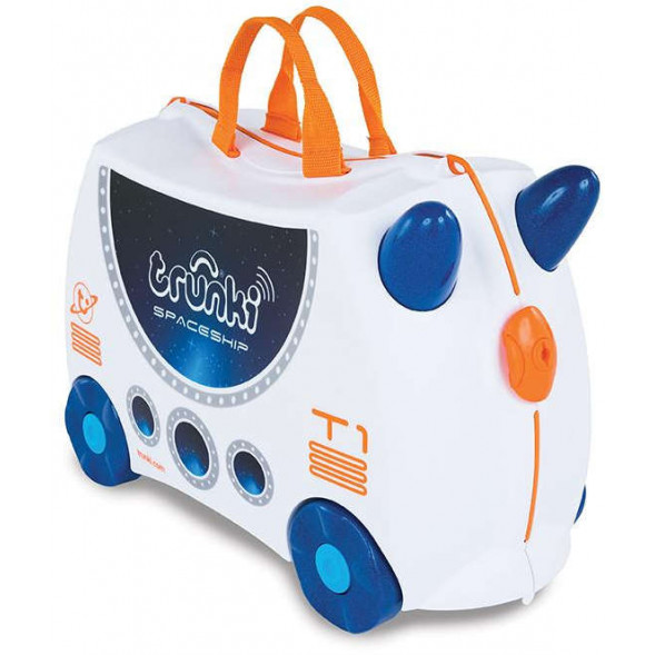 "Valise enfant phosphorescente ""Skye the spaceship"" Trunki"