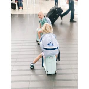 """Valise à roulettes enfant Jetkids Bedbox """"Bleu Ciel"""" Stokke"""