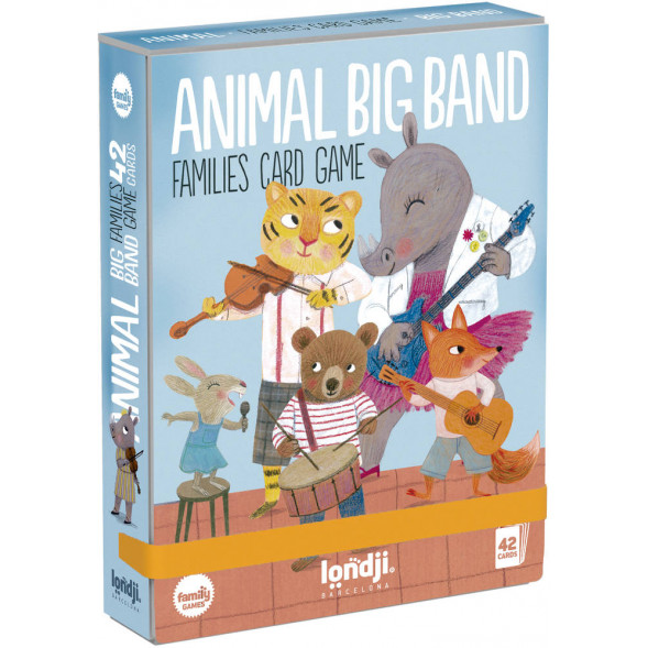 "Jeu des 7 familles ""Animal Big Bang"" (3 ans et +)"