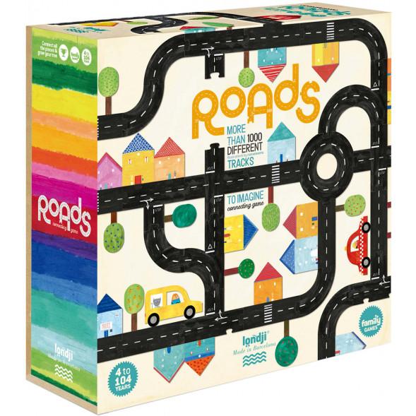 """Jeu à construire """"Roads"""" (4 ans et +)"""