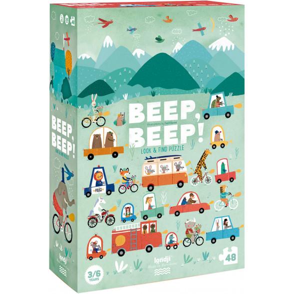 "Puzzle ""Beep! Beep!"" (3-6 ans)"