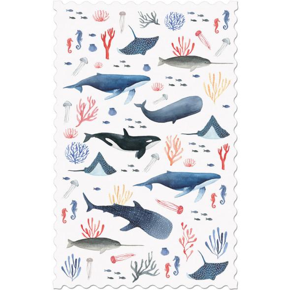 "Carte postale ""Underwater"""