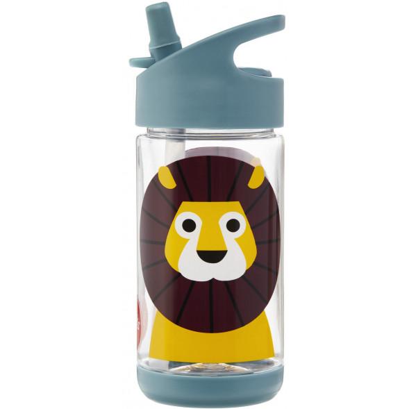 """Gourde en tritan avec paille (350 ml) """"Lion"""""""