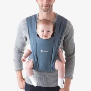 """Porte-bébé Embrace """"Bleu Gris"""" Ergobaby"""