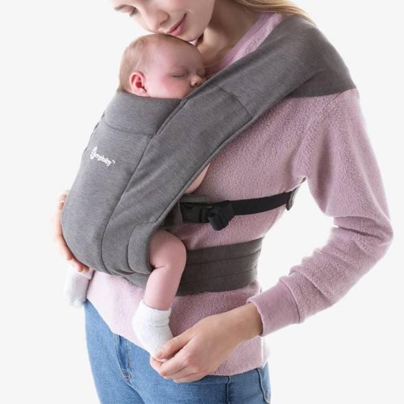 """Porte-bébé Embrace """"Gris"""""""