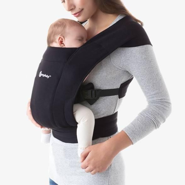 """Porte-bébé Embrace """"Noir intense"""""""