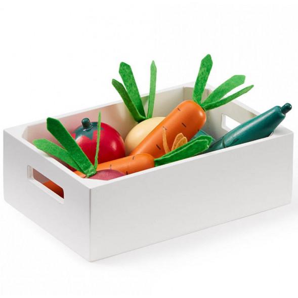 Cagette de légumes en bois (3 ans et +)