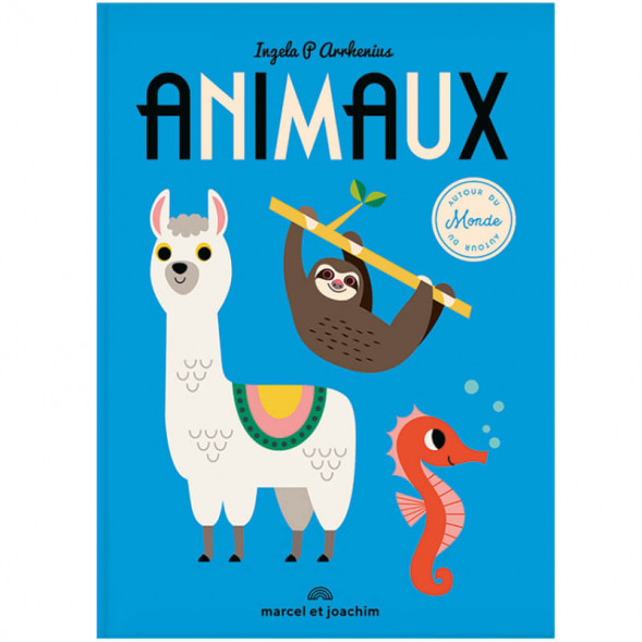 """Livre géant """"Animaux autour du monde """"(12 mois et +) d'Ingela P. Arrhenius"""