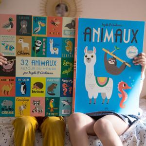 """Livre géant  """"Animaux autour du monde """"d'Ingela P. Arrhenius Marcel & Joachim"""