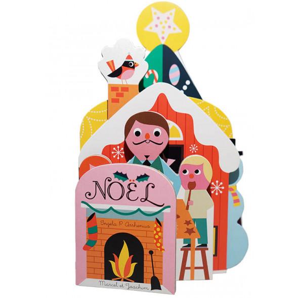 """Livre d'éveil en carton """"Noël"""" d'Ingela P. Arrhenius"""