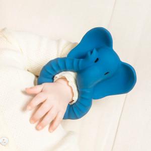 """Anneau de dentition en hevea """"Elephant"""" Natruba"""