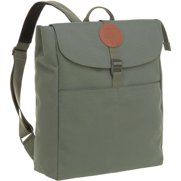"Sac à langer à dos en PET recyclé Green Label Adventure ""Olive"""