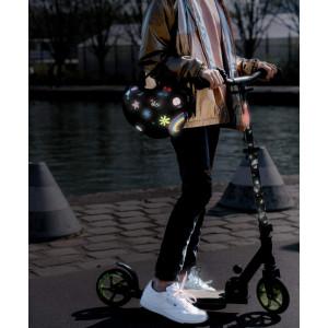 """Stickers réflechissants pour vélo et casque """"Meduse"""" Rainette"""
