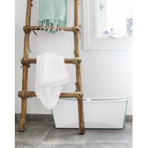"""Baignoire bébé pliable Flexi Bath """"Blanc/Aqua"""" Stokke"""