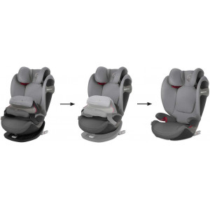 "Siège Auto Pallas S-fix ""Soho Grey"" Cybex"