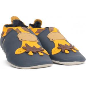 "Chaussons bébé en cuir Soft Sole ""Girafe"" Bobux"