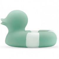 "Canard de bain Flo Bouée en hevea ""Vintage Vert Menthe"""
