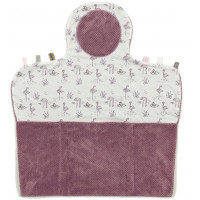 "Tapis de change nomade Easy Changing ""Soft Mauve"" Snoozebaby"