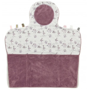 """Tapis de change nomade Easy Changing """"Soft Mauve"""" Snoozebaby"""