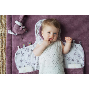 "Tapis de change nomade Easy Changing ""Frost Grey"" Snoozebaby"