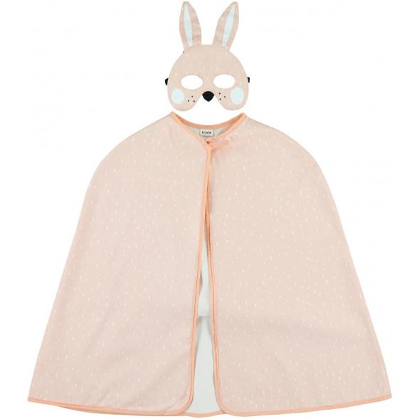 Déguisement enfant en coton Mrs Lapin (3-7 ans)