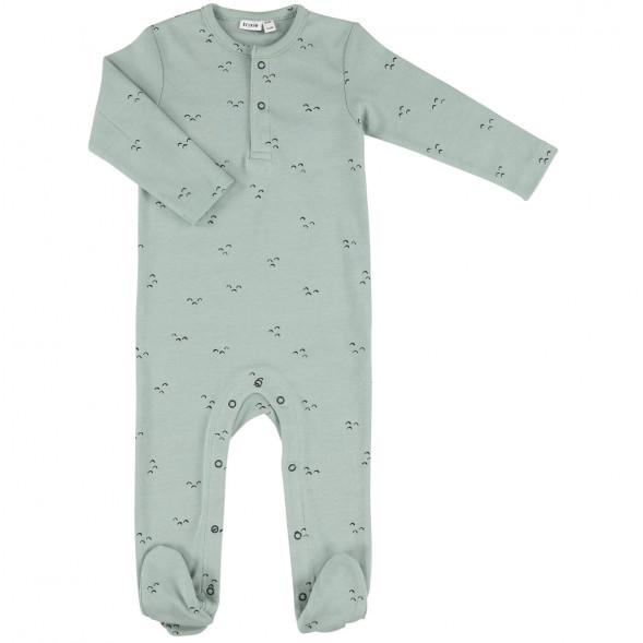 """Pyjama bébé avec pieds en coton bio """"Mountains"""""""