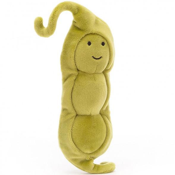 Peluche Vivacious vegetable Petit Pois (17 cm)