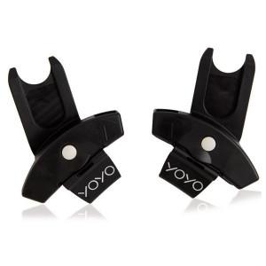 Pack Babyzen Duo : Poussette Yoyo² 6+ (châssis blanc) + iZi Go Modular Besafe + adaptateurs