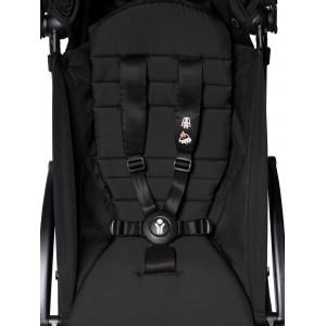 Poussette Yoyo² Complète (0+ et 6+) Chassis Blanc / Noir Babyzen