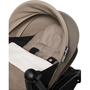 Poussette Yoyo² Complète (0+ et 6+) Chassis Blanc / Taupe Babyzen
