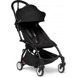 Poussette Yoyo² Complète (0+ et 6+) Chassis Noir / Noir Babyzen