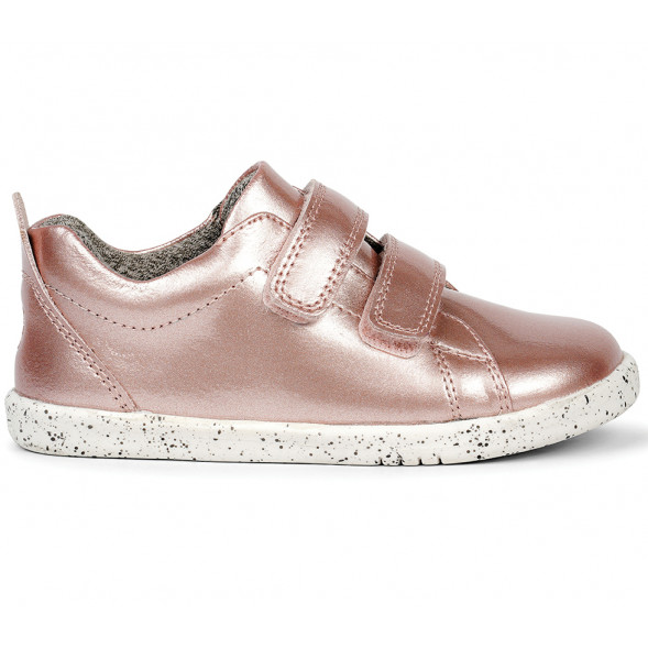 "Tennis en cuir imperméables I Walk Grass Court Waterproof ""Rose Gold"""