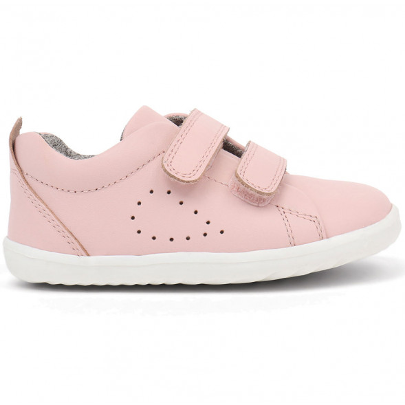 "Tennis en cuir Step Up Grass Court ""Rose Seashell"""