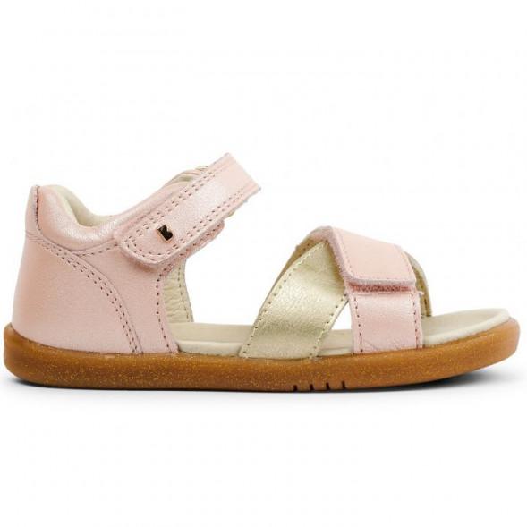 "Sandales I Walk en cuir Sail ""Rose/Doré"""