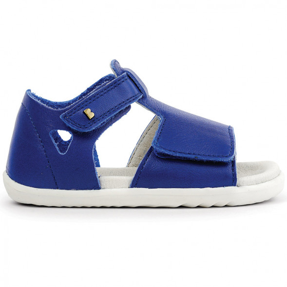 """Sandales Step up en cuir imperméable Quickdry Mirror """"Blueberry"""""""