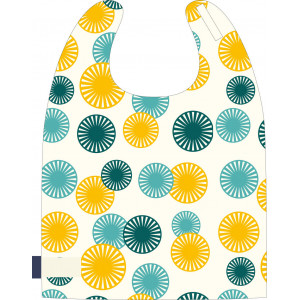 "Grande serviette enfant en coton bio ""Kids Love the Ocean"" Coq en Pate"