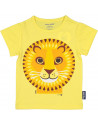 """T-shirt enfant manches courtes en coton bio """"Lion"""" Coq en Pate"""