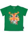 """T-shirt enfant manches courtes en coton bio """"Tigre"""" Coq en Pate"""