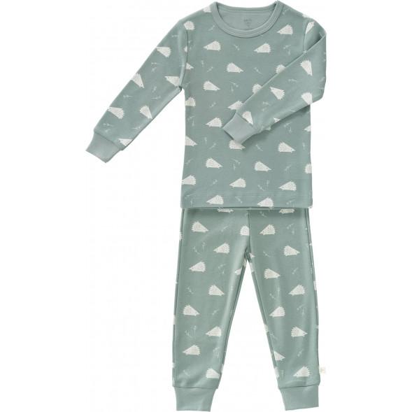 """Pyjama 2 pièces en coton bio """"Hérisson"""""""