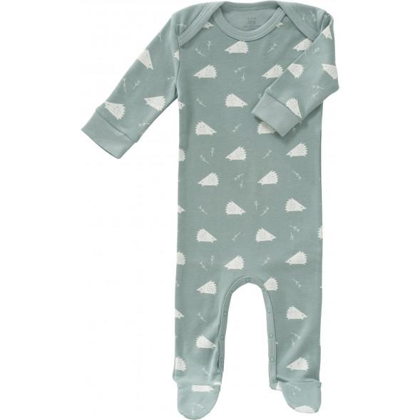 """Pyjama bébé avec pieds en coton bio """"Hérisson"""""""